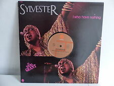 "MAXI 12"" SYLVESTER I who have nothing F1950"
