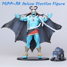 ThunderCats 10 Inch Mumm-Ra & Ma-Mutt DELUXE STACTION Figure Statues New In Box