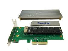 SINTECH 2013-2014 MacBook Air A1465 A1466 +Pro A1502 A1398 SSD PCI-e 4X adapter