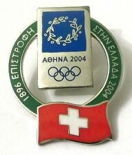 Pin Spilla Olimpiadi Athens 2004 - Switzerland Flag