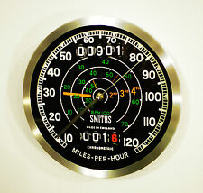 Triumph Tiger T110 Classic Smiths Speedometer Style Wall Clock 1940 - 50's Style
