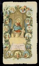 santino-holy card ediz.GN n.161 MADONNA DEL ROSARIO DI POMPEI