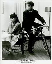 ANNA KARINA BRIALY UNE FEMME EST UNE FEMME 1961 GODARD VINTAGE PHOTO ORIGINAL #2