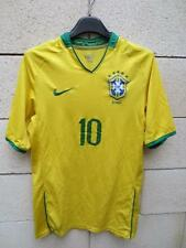VINTAGE Maillot BRESIL n°10 NIKE camiseta jersey shirt BRASIL S