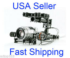 FPV Brushless Camera Gimbal for Mini SLR Sony 5N GH2 LX7 or Similar Two Axis PTZ