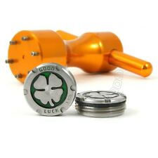 2x 10g Deluxe Tour Weights +Wrench for Scotty Cameron Putter, Green Lucky Clover
