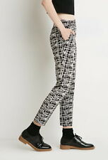 New with tags Forever 21 Contemporary Abstract Sketch-Grid Pants XS
