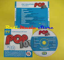 CD POP COLLECTION '70 VOL 2 compilation PROMO 2006 GAYNOR CHIC LOU REED (C7)
