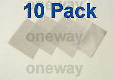 "(10 Pack) 4"" x 4"" - 100 MESH Stainless Steel .0045"" wire- Gas Can Filter"