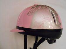 TROXEL LEGACY Horse Riding Helmet Adjustable Pink Size Medium