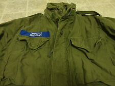 VINTAGE ORIGINAL US ARMY AFTER VIETNAM M65 FIELD JACKET GOOD COND S/S 1976