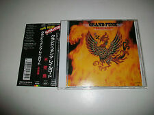 GRANK FUNK RAILROAD - RARE JAPAN CD - HARD ROCK - FUNK - PHOENIX - w/OBI