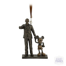 Disney Parks Walt Disney and Mickey Mouse ''Partners'' Statue Figure Ornament