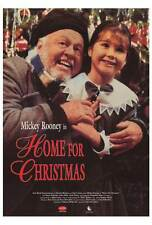 HOME FOR CHRISTMAS Movie POSTER 27x40 Mickey Rooney Simon Richards Lesley Kelly