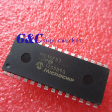 10PCS PIC16F57-I/P DIP28 8-Bit 20MHz Microcontroller NEW GOOD QUALITY