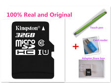 Kingston 32GB 32 GB MicroSDHC Micro SD SDHC TF Flash Memory Card 32G +Reader/Pen