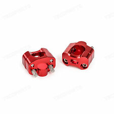 """HandleBar Mounts Adapter Suzuki DR/DRZ/DS/RM 60 100 125 200 250 400 650 1-1/8"""""""