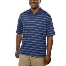 NEW Kirkland Signature Men's Polo Golf Shirt Wicking UV Protection Navy XL