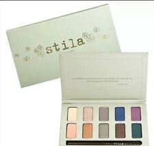 STILA EYE SHADOWS PALETTE In The Garden Eye Makeup  w/ Starfish Eye Liner