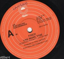 FINCH One More Time *AUSTRALIA ORIGINAL 70s ROCK SINGLE*