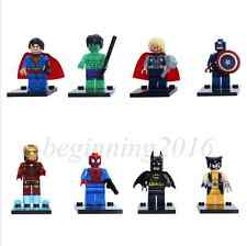8pcs The Avengers Building Blocks Minifigures Bricks Compatible Toys Kid Gift