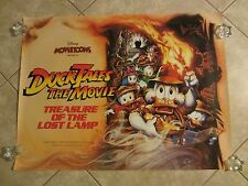 Disney's Duck Tales The Movie poster, original uk quad poster (1990)