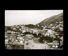 Croatie c. 1900 - RAGUSE Vue des Fortifications - Verre Positif - 65