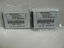 (Lot of 2) Original Motorola T720, T721, V810, E398, ROKR E1 Batteries SNN5699A