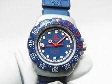 Tag Heuer Blue Formula 1 F1 Ladies Swiss Quartz Watch 370.508 New Battery