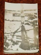 INCREDIBLE RPPC WWI Quentin Roosevelt CRASH SITE GRAVE!