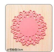 small Silicone Heat Insulation Coasters Mat Resistant Pad Non-Slip Cup Placemat=