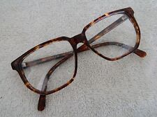 VINTAGE Guy Laroche Moda fashion 17 plastic brown eyeglasses frame 55 - 15