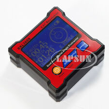 Dual Signal Axis Digital Protractor Inclinometer Level Box Meter 0.01° DXL 360S