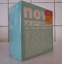 BOX NOVA - Le 3eme COFFRET - 25 CD DE GRAND MIX