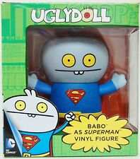 NEW OFFICIAL DC COMICS UGLY DOLL BABO AS SUPERMAN VINYL FIGURE COLLECTIBLE TOY
