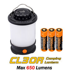 Fenix CL30R Camping Lantern Lamp USB Rechargeable LED Tripod Loop Light +Battery
