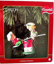 Campbell's Soup Ornament A Hearty Christmas Carlton Campbells Kids Teeter Totter