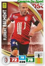 116 FLORENT BALMONT FRANCE LOSC LILLE.OSC CARD ADRENALYN LIGUE 1 2017 PANINI