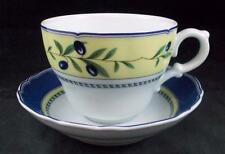 Hutschenreuther MEDLEY Breakfast Cup & Saucer Set GREAT PREOWNED CONDITION
