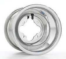 "DWT Polished A5 ATV Rear Wheel 10"" 10x10 5+5 4/115 Yamaha Raptor YFZ450 Banshee"