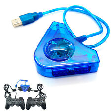 For Dual PS1 PS2 PS Playstation2 PSX to USB PC Game Controller Adapter Converter