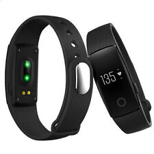 Bluetooth Smart Wrist Watch Sport Pedometer Bracelet ID107 for iOS Android