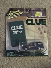 Johnny Lightning Clue 2002 Cadillac Escalade Mrs. Peacock 1:64 Scale MOC 2004