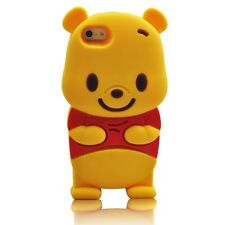 For Apple IPhone  6 6s  4.7 3D Winnie The Pooh Character Case Cover