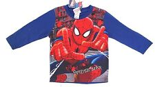 Marvel Ultimate Spider-Man Boy's Kids Long Sleeve Pajama Shirt Size 3 NWT