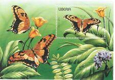 Liberia - Butterflies, 1996 - Sc 1209 S/S MNH
