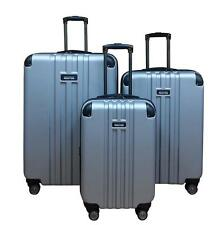"Kenneth Cole Reaction Reverb Silver Hardside Spinner Luggage set, 21"", 25"", 29"""