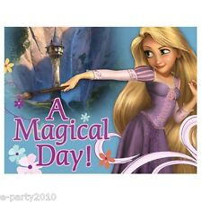 TANGLED INVITATIONS (8) ~ Disney Princess Birthday Party Supplies Rapunzel Cards