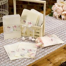 New wedding with love vintage floral love birds 25 paper candy buffet sweet bags