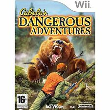 Nintendo Wii Game Cabela's Dangerous Adventures NEW